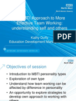 Kathy Duffy - An MBTI Approach to More Effective Team Working FINAL