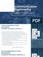 Telecommunication Engineering CDR Sample