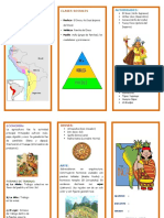 Triptico Cultura Inca