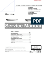 Philips DVD Service Manual