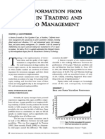 Using Information From Trading In Trading And Portfolio Management
