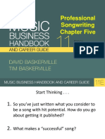 Music Business Handbook and Career Guide - 11th Edition (Songwriting)