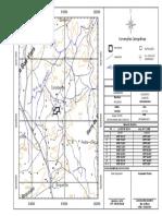 Mapa de situação para geologia
