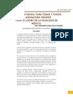 EDUCACIÓN SEXUAL PARA TODAS Y TODOS