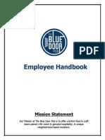 Blue+Door+Pub+Employee+Handbook