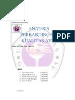 Analisis Perbandingan Kualitas ATM