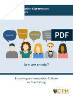 Innovation Culture in Purchasing[36039]