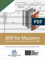 BIM for Masonry Modeling Buildings in Autodesk Revit