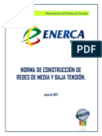 Norma de Constr_Redes MT-BT Enerca -2017(Jun)