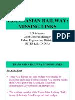 5. Trans-Asian Railway - Missing Links