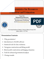 ITB Mining Engineering Department (Nur Heriawan) - Basic Geostatistic For Ore Reserves Evaluation And Estimation.pdf