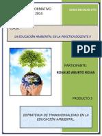 Transversalidad en la educación ambiental