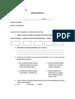 Examen Diagnóstico Historia 3