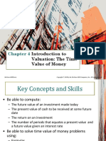 Chapter 4 Introduction to Valuation - The Time Value of Money