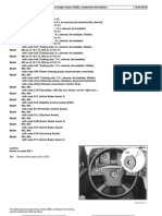 Steering Wheel Angle Sensor (SAS), Component Description