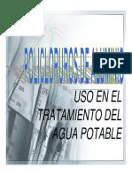 POLICLORUROS DE ALUMINIO EN AGUA POTABLE