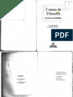 Temas de Filosofia -2012 Libro Cabanillas