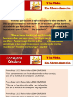Consejeria Cristiana PPT First Class