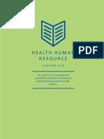 Health Human Resource
