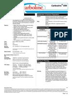 Carbozinc Data Sheet