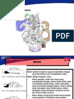 materi komponen utama mesin