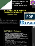 Cefalea  y algias faciales. Fisiopatología y clínica