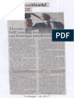 Business World, Aug. 28, 2019, House panels approve bill easing restrictions on foreign professionals.pdf