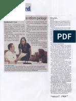Manila Standard, Aug. 28, 2019, House panel OKs tax reform package.pdf