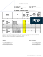 LR Situation Report Form (Blank)