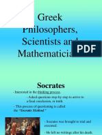 Greek Philosphers Powerpoint Presentation.ppt