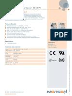 SPD Mersen Catalog