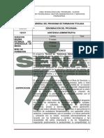 Tn Asistencia Administrativa Cod. 122121 SENA