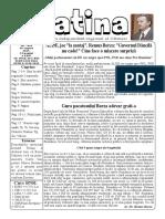 Datina - 28.08.2019 - prima pagină