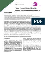 Acid Resistance of Concrete