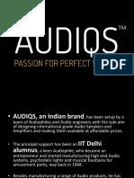 Audiqs-Audio Speakers.pptx