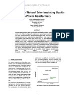 Natural Ester Power Transformers My Transfo 2014Final