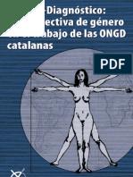 Estudio- diagnóstico la perspectiva de género en el trabajo de las ONGD catalanas