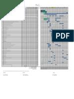 Proposed Single Stream, Salt Dissolving,Cluster Valves and Nitrogen Projects Timeline - Week 33.pdf