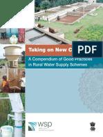WSP India Compendium of Good Practices Rural Water Supply Schemes