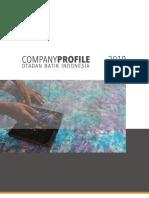 Company Profile - Otadan Batik Indonesia 2019