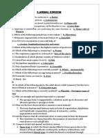 Namma Kalvi 11th Bio Zoology Unit 2 Study Material