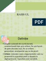 semiologie pediatrica umftgm rash-ul