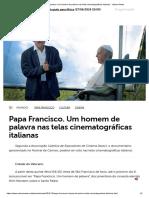 Papa Francisco. Um Homem de Palavra Nas Telas Cinematográficas Italianas - Vatican News