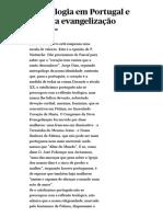Teologia Em Portugal e Nova Evangelização (Bento Domingues) _ PÚBLICO