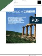 Ritorno a Cirene - Archeologia Viva, Settembre 2019