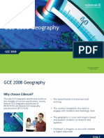 Ed Excel g Ce Geography Presentation