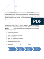 Money and Financial System Notes
