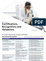 3M Certification Validation & Recognition