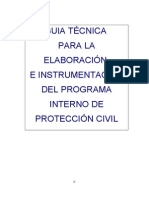 Manual de Programa de Proteccion Civil
