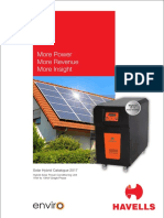 Havells Enviro-Solar Hybrid Inverter Catalogue-2